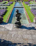 Botanical Gardens Villa Taranto  Italy Stock Image
