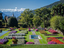 Botanical Gardens Villa Taranto  Italy Royalty Free Stock Photo