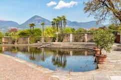 Botanical Gardens of Villa Taranto, Pallanza, Italy. Botanical Gardens of Villa Taranto, located on the shore of Lake Maggiore in Pallanza, Verbania, Italy Royalty Free Stock Image