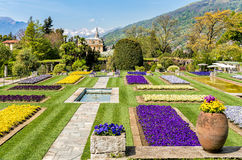 Botanical Gardens of Villa Taranto, Pallanza, Italy. stock photo
