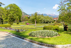 Botanical Gardens of Villa Taranto, Verbania, Italy. Royalty Free Stock Images
