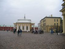 Botanical house, Peter and Paul Fortress royalty free stock photography