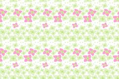 Free Botanical Motifs Seamless Vector Texture. Little Flowers Royalty Free Stock Photo - 124752065