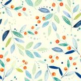 Botanical seamless pattern Stock Images