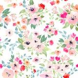 Botanical seamless pattern Stock Photography