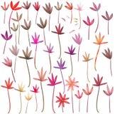 Botanical seamless pattern Royalty Free Stock Photo