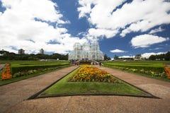 botaniczni Brazil curitiba ogródy zdjęcia royalty free