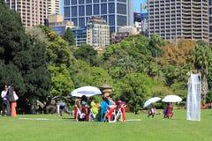 botaniczny świętowanie uprawia ogródek indyjskiego Sydney Zdjęcia Stock