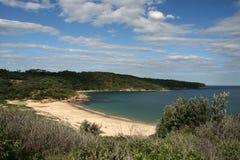botanik sandiga sydney för Australien fjärdstrand Royaltyfri Fotografi