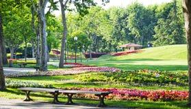 Botanisch park royalty-vrije stock foto's