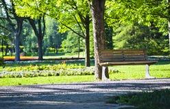 Botanisch park stock fotografie