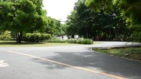 Botanisch Tuin of khung klapkachaopark in Samut Prakan, Thailand stock footage