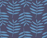 Botanisch uitstekend textielpatroon in vector vector illustratie