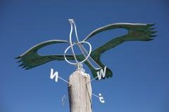 Botanische Gärten antike Vogel-Wetter-Ader-Aucklands Lizenzfreies Stockbild