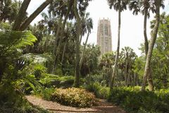 Botanische Gärten Bok-Turms lizenzfreie stockbilder