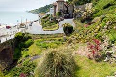 Botanische het zuidenkust van tuinenventnor het Eiland Wight van de stad van de eilandtoerist royalty-vrije stock foto's
