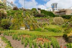 Botanische het zuidenkust van tuinenventnor het Eiland Wight van de stad van de eilandtoerist Stock Afbeelding