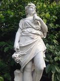 Botanische klassische Statue Stockfotografie