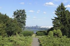 Botanische Landschaft von Kiew Lizenzfreie Stockfotos