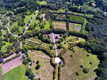 Botanische Tuin in Chisinau Moldavië royalty-vrije stock foto