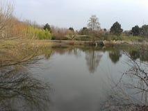 Botanische tuin in Nitra Stock Fotografie