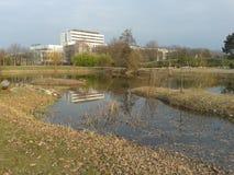 Botanische tuin in Nitra Royalty-vrije Stock Fotografie