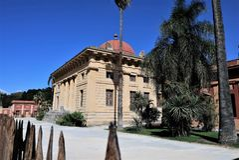 Botanische tuin, Palermo, Sicilië royalty-vrije stock afbeeldingen