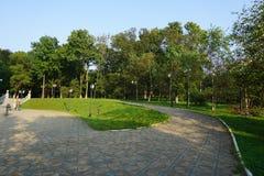 Botanische Tuin vladivostok Primorye Rusland Royalty-vrije Stock Foto