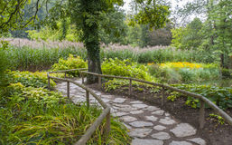 Botanische tuin Volcji potok Stock Fotografie