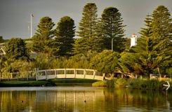 Botanische tuin in Warrnambool, Australië Stock Afbeeldingen