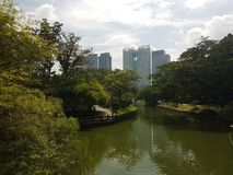 Botanische tuinen in Kuala Lumpur Royalty-vrije Stock Afbeelding