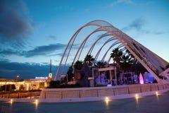 Botanische Tuinenstad van Kunsten en Wetenschappen, Valencia, Spanje Stock Foto