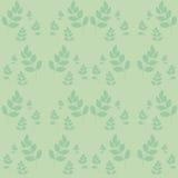 Botanische vectorachtergrond Royalty-vrije Stock Foto
