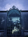 Botanischer Garten des Winters Lizenzfreie Stockfotos