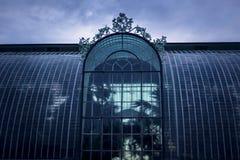 Botanischer Garten des Winters Lizenzfreies Stockbild