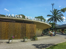 Botanischer Garten Medellin Lizenzfreies Stockfoto