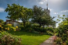 Botanischer Garten von Torshavn Lizenzfreie Stockfotos