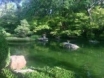 Botanischer japanischer Wasser-Garten Lizenzfreie Stockfotografie