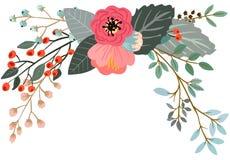 Botanisk blom- bukett Arkivbilder