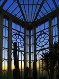 botanisk gazebo Royaltyfri Foto