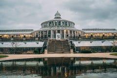 Botanisk heeft in Kopenhagen, Denemarken royalty-vrije stock afbeeldingen