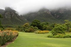 Botanisk trädgård av uddtownen Arkivfoto