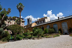 Botanisk trädgård Florence, Firenze, Italien, Italia Arkivbild