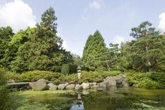 Botanisk trädgård Hamburg, Tyskland 03 Royaltyfri Foto