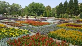Botanisk trädgård i Bulgarien Arkivfoto
