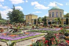 Botanisk trädgård i Hannover, Tyskland Fotografering för Bildbyråer
