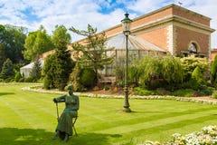 Botanisk trädgård Leuven arkivbilder