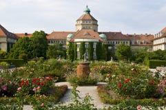 botanisk trädgård munich royaltyfria bilder