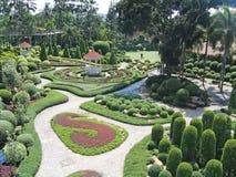 botanisk trädgårdnongnuch pattaya Royaltyfri Fotografi