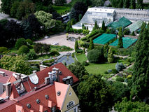 botanisk trädgårdwroclaw Royaltyfria Foton